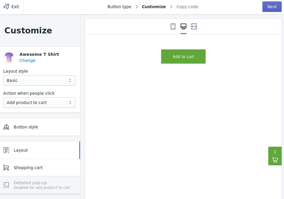 jekyll-shopify-buy-button-creation